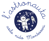 Asilo nido l'astronauta Logo